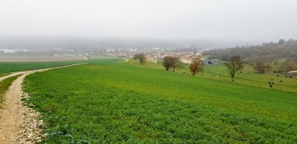 Ligny-en-Barrois vue des Aouisses