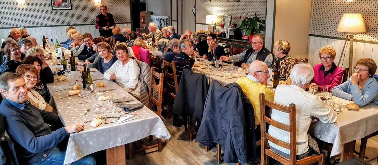 Repas du Beaujolais, Ligny-en-Barrois le15/11/2018