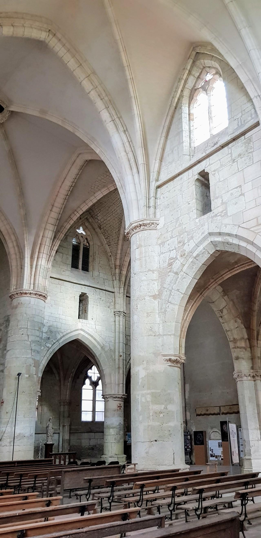 L'église abbatiale de LaChalade