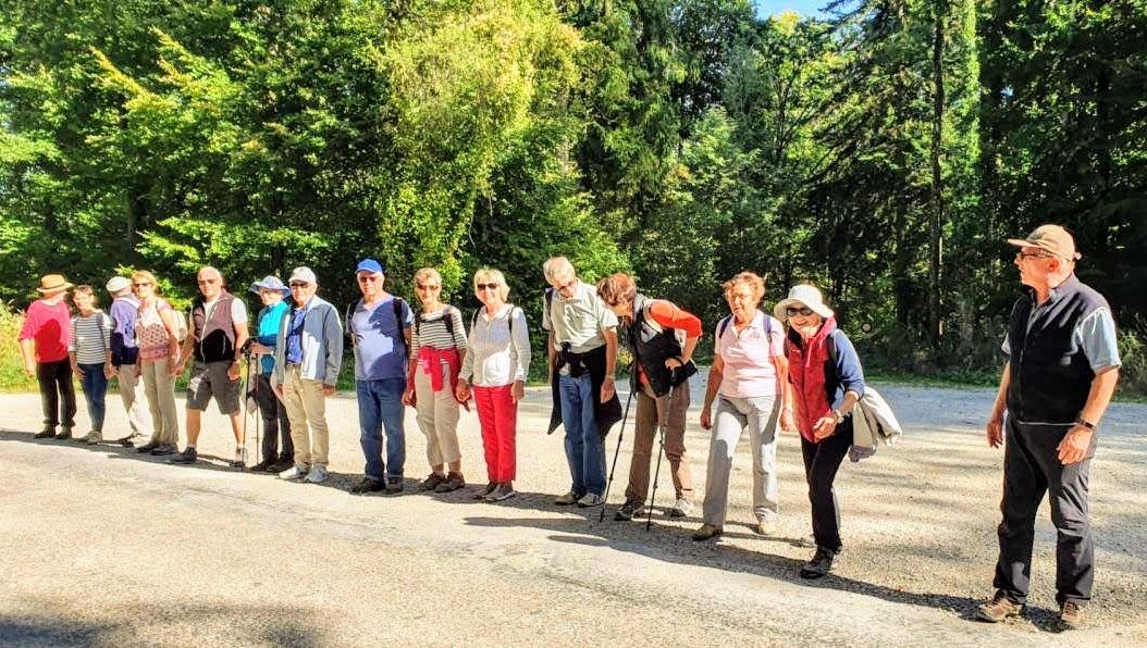 Marche à Rosières le19/09/2019