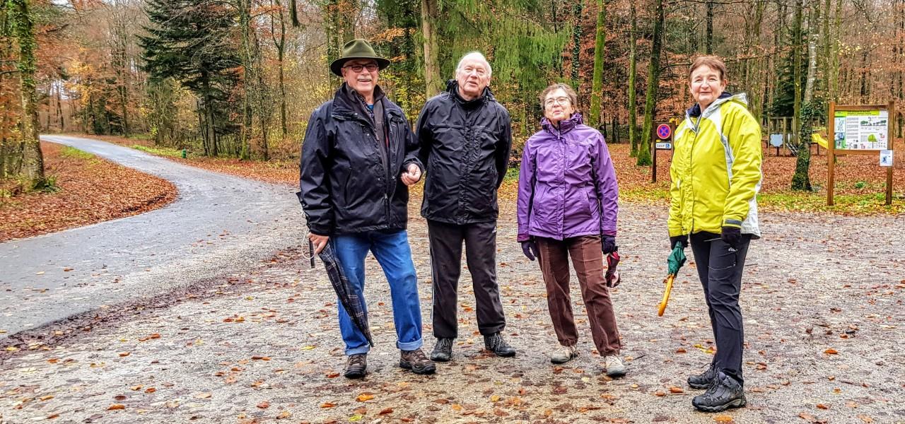 Marche du 28/11/2019 dans la forêt du HautJuré