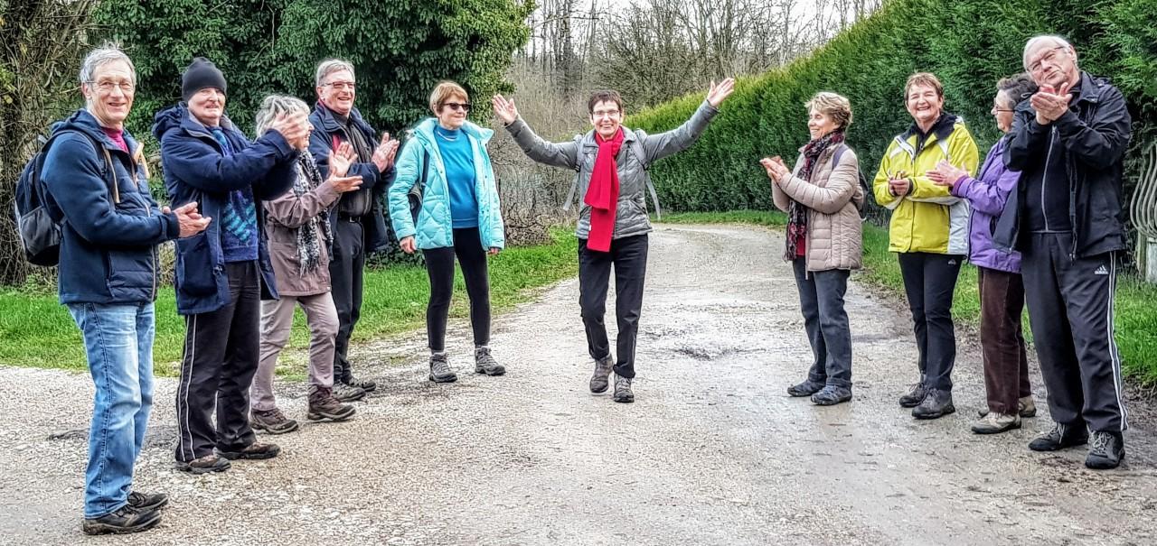 Promenade au Haut Juré le19/12/2019